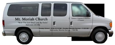 gray church van